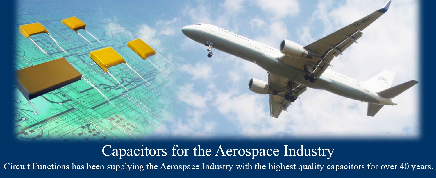 Aerospace NPO, X7R, & Other High Temp Capacitors